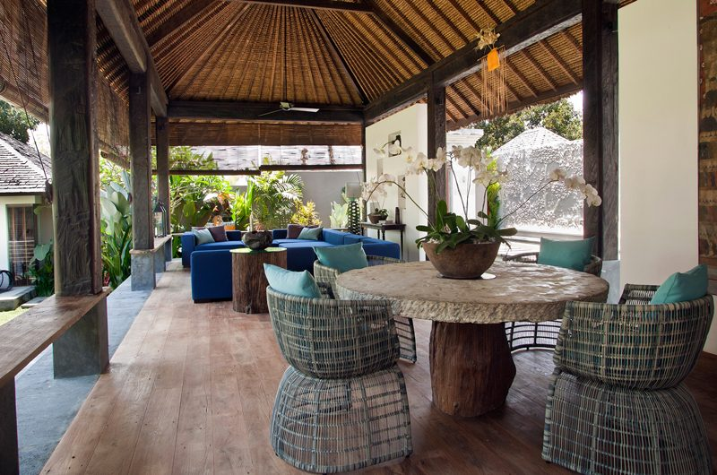 Villa Levi Open Plan Living and Dining Area | Canggu, Bali