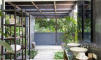 Villa Levi His and Hers Bathroom | Canggu, Bali