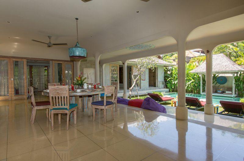 Villa Sky Li Open Plan Dining Pavilion | Seminyak, Bali