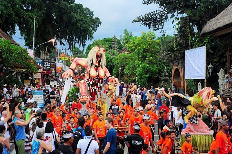 Nyepi day parade