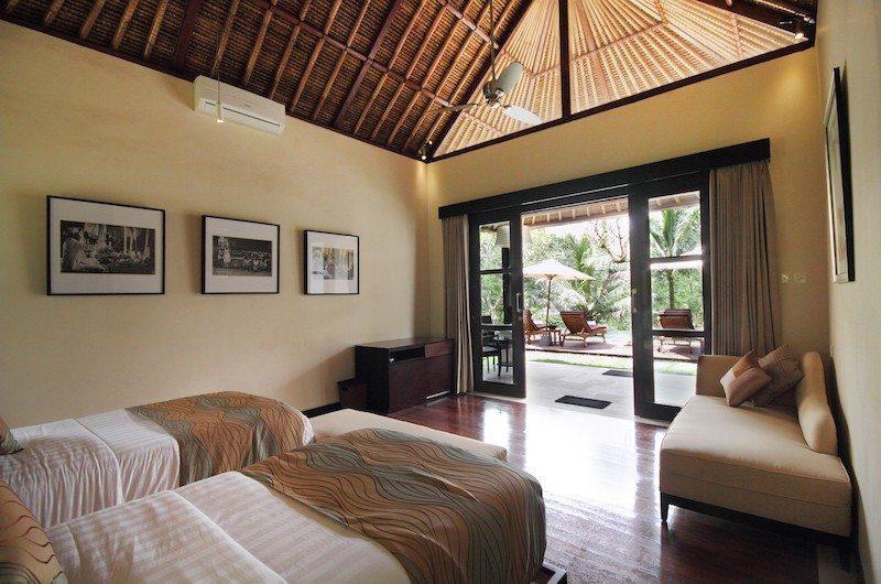 Villa Amrita Twin Bedroom|Ubud, Bali