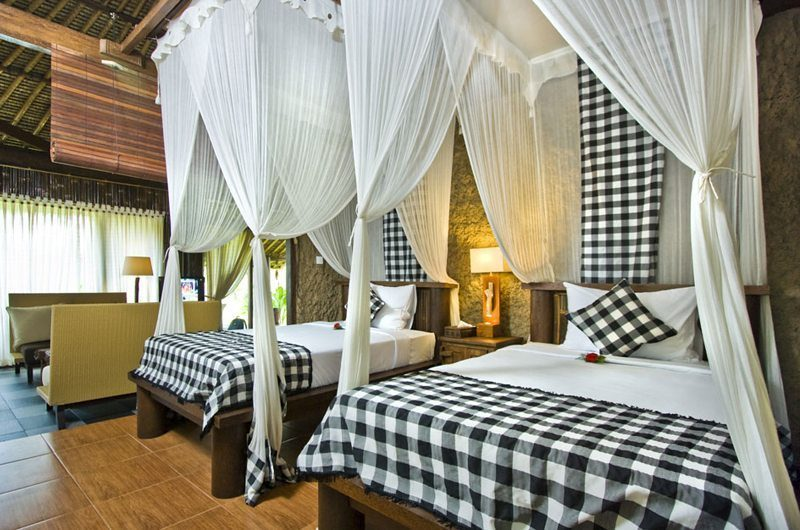 Villa Kunang Kunang | Bungalow1 Twin Bedroom | Ubud, Bali
