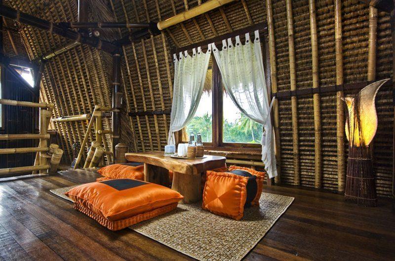 Villa Kunang Kunang | Rice Barn Upstair Living | Ubud, Bali
