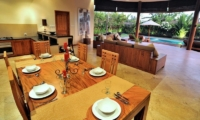 Villa Lea | 4br Open Plan Dining Area | Umalas, Bali