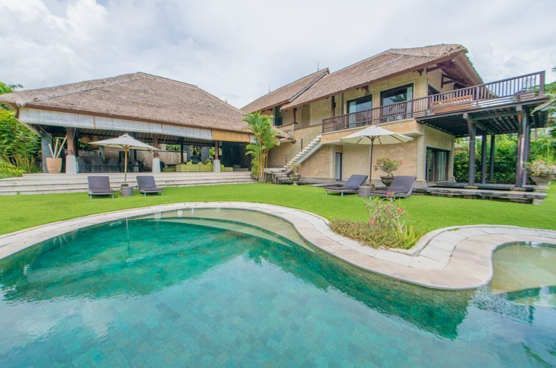 Villa Palm River Outdoor View | Pererenan, Bali