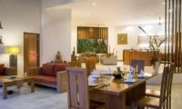Villa Suliac Living And Dining Area   Legian, Bali
