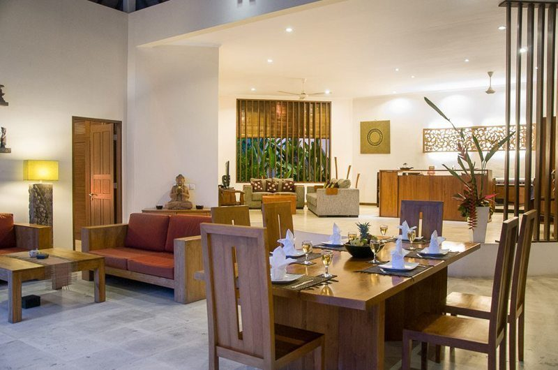 Villa Suliac Living And Dining Area | Legian, Bali