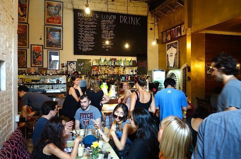 Inside Revolver Cafe Seminyak