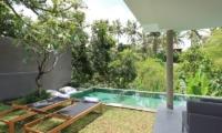 Aria Villas Sun Beds   Ubud, Bali