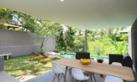 Aria Villas Open Plan Dining Area   Ubud, Bali