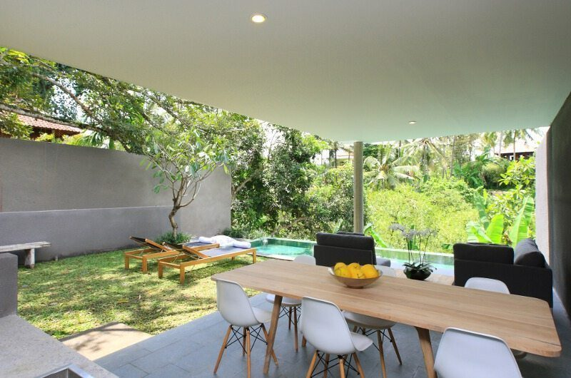 Aria Villas Open Plan Dining Area | Ubud, Bali