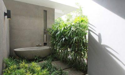 Aria Villas Outdoor Bathtub | Ubud, Bali