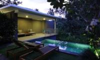 Aria Villas Outdoor Lounge   Ubud, Bali