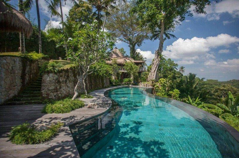 Hartland Estate Pool Side   Ubud, Bali