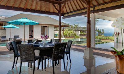Pandawa Cliff Estate Villa Marie Pool Side Dining | Ungasan, Bali