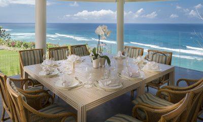 Pandawa Cliff Estate Villa Markisa Dining Area with Sea View | Ungasan, Bali
