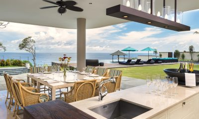 Pandawa Cliff Estate Villa Pala Dining with Pool View | Ungasan, Bali