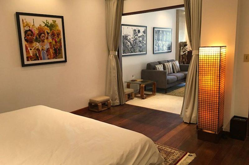 The Luxe Bali Bedroom with Standing Lamp | Uluwatu, Bali