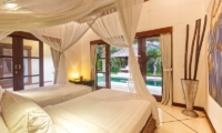 Villa Cinta Twin Bedroom with Pool View | Seminyak, Bali