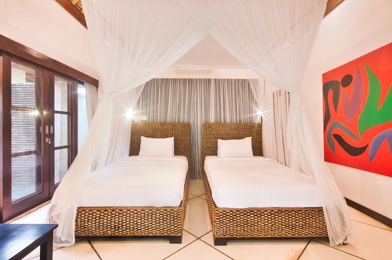 Villa Cinta Twin Bedroom Area | Seminyak, Bali