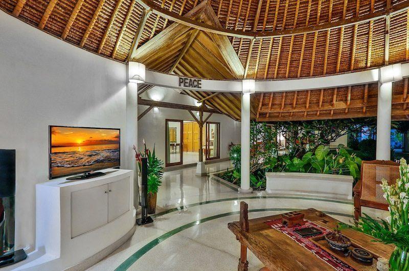 Villa Damai Kecil Open Plan Living Area   Seminyak, Bali