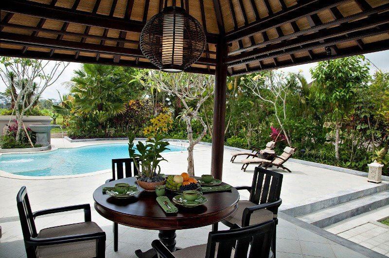 Villa Cemadik Dining Area   Ubud, Bali