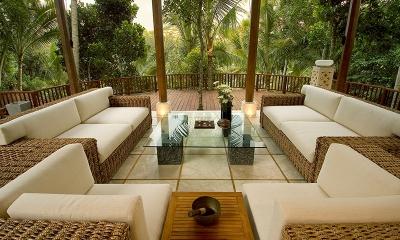 Villa Vajra Seating   Ubud, Bali