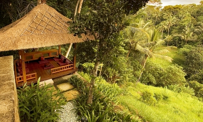 Villa Vajra Lounge Area   Ubud, Bali
