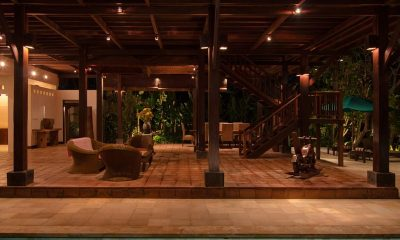 Atas Awan Villa Open Plan Living Room | Ubud, Bali