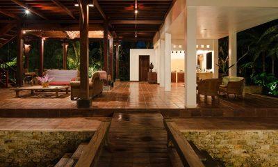 Atas Awan Villa Indoor Living Area | Ubud, Bali