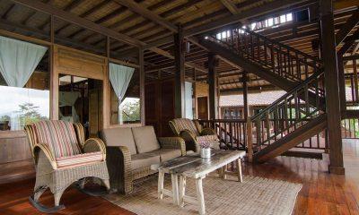 Atas Awan Villa Open Plan Living Area | Ubud, Bali