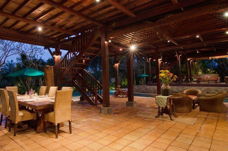 Atas Awan Villa Living And Dining Area | Ubud, Bali