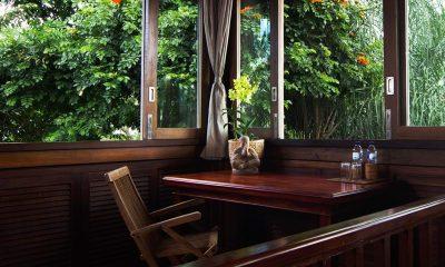 Atas Awan Villa Study Table | Ubud, Bali