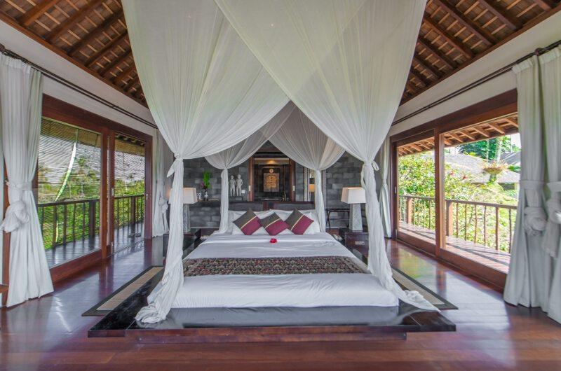 Awan Biru Villa Bedroom and Balcony | Ubud, Bali