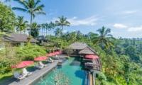 Awan Biru Villa Bird's Eye View | Ubud, Bali