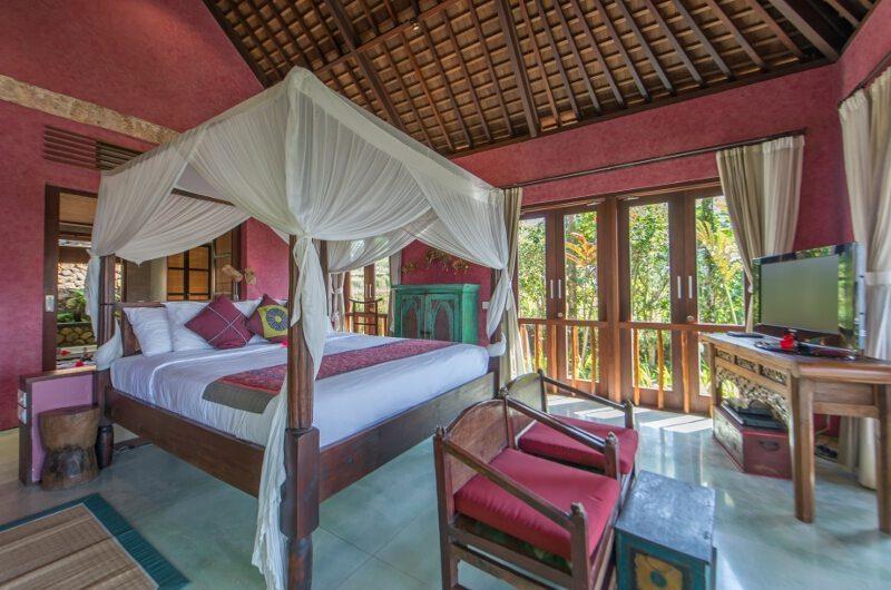 Awan Biru Villa King Size Bed with View | Ubud, Bali