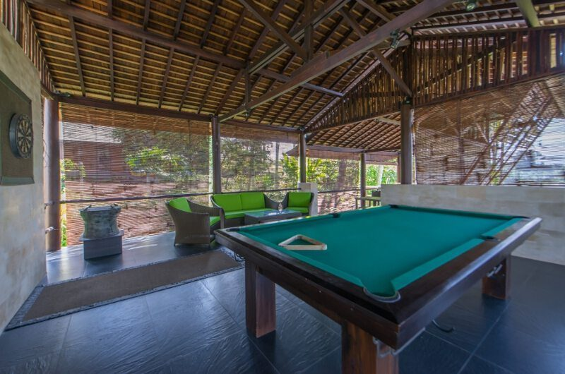 Awan Biru Villa Billiard Table | Ubud, Bali