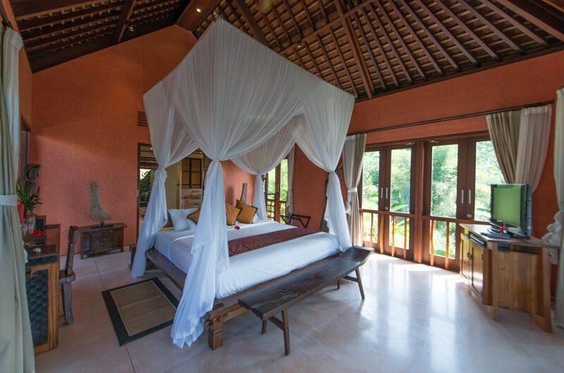 Awan Biru Villa Bedroom with View | Ubud, Bali