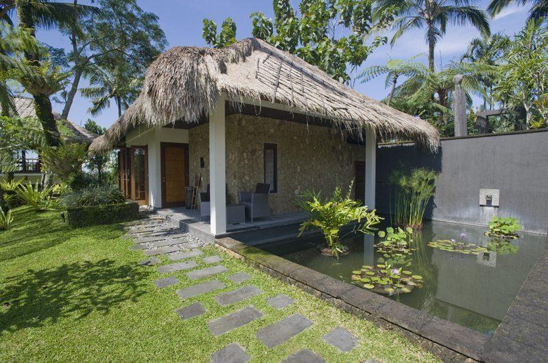 Awan Biru Villa Outdoor Area with Pond | Ubud, Bali