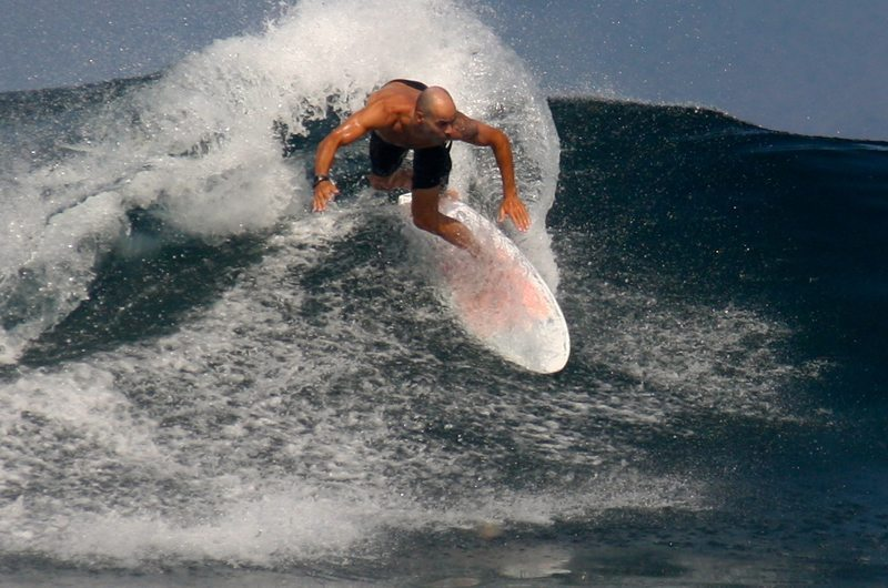 Professional Surfer in Bali