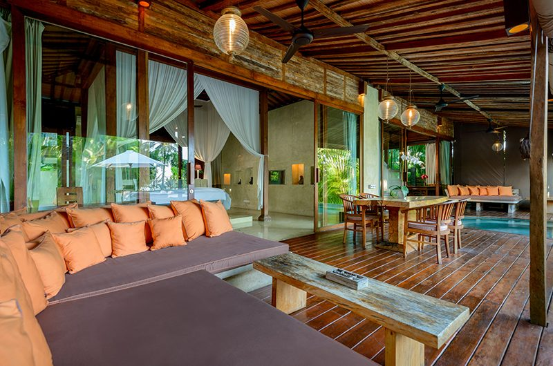 Shalimar Cantik Dining and Living Area | Seseh, Bali