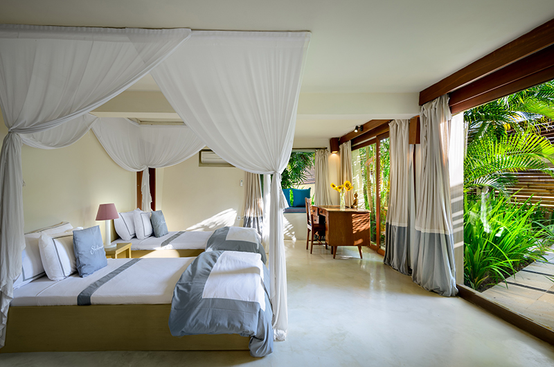Shalimar Kalima Twin Bedroom Area | Seseh, Bali