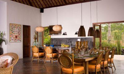 Villa Bayad Indoor Dining Area   Ubud, Bali
