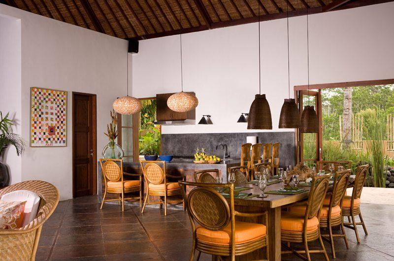 Villa Bayad Indoor Dining Area | Ubud, Bali