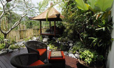 Villa Bayad Outdoor Seating Area   Ubud, Bali