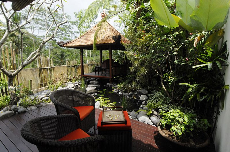 Villa Bayad Outdoor Seating Area | Ubud, Bali