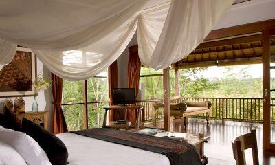 Villa Bayad Bedroom and Balcony   Ubud, Bali