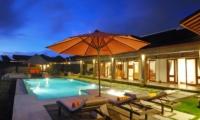 Villa Griya Aditi Night View | Ubud, Bali
