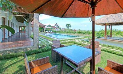 Villa Griya Aditi Pool Side Dining | Ubud, Bali
