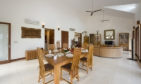Villa Griya Aditi Living and Dining Area | Ubud, Bali